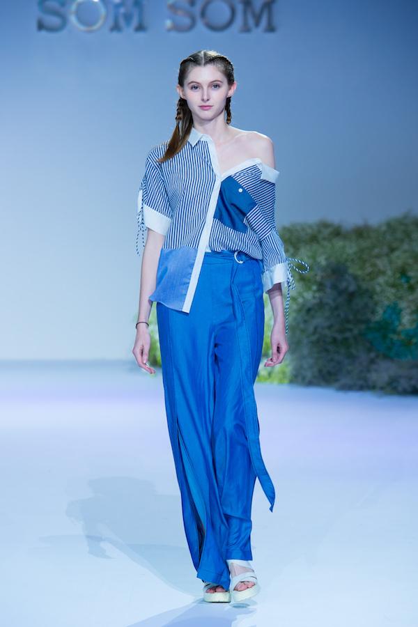 SOMSOM2018夏季新品发布秀如临仙境,和她追寻时尚新坐标
