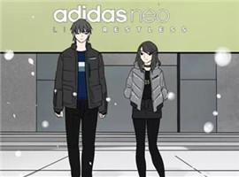 越来越多品牌看上了漫画生意,最近的玩家是Adidas neo