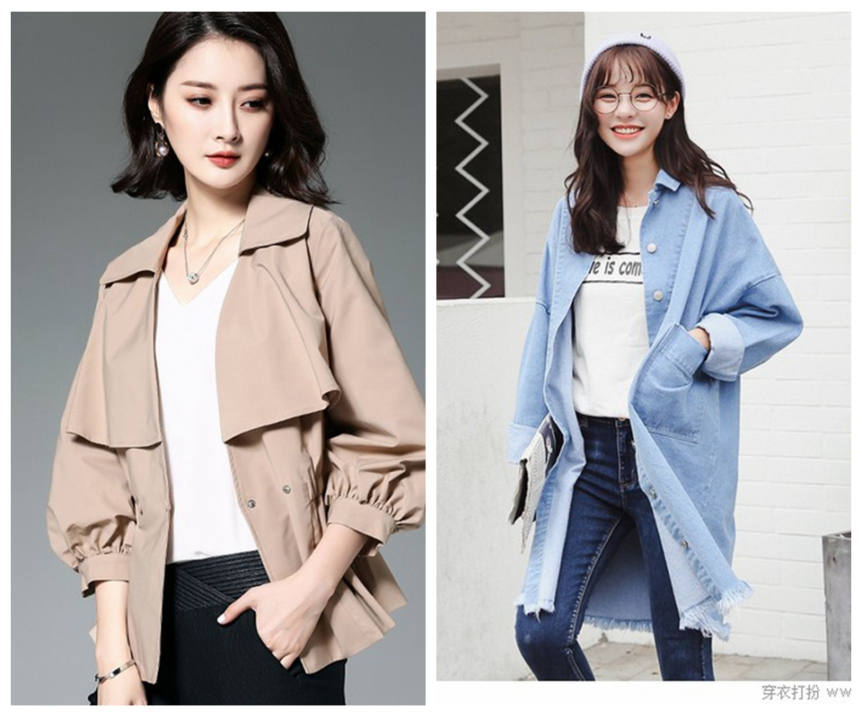 QLL时尚欧韩风衣折扣女装高端品牌女装库存走份批发