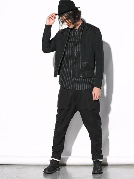 线锁艺术美学设计师男装2017新款