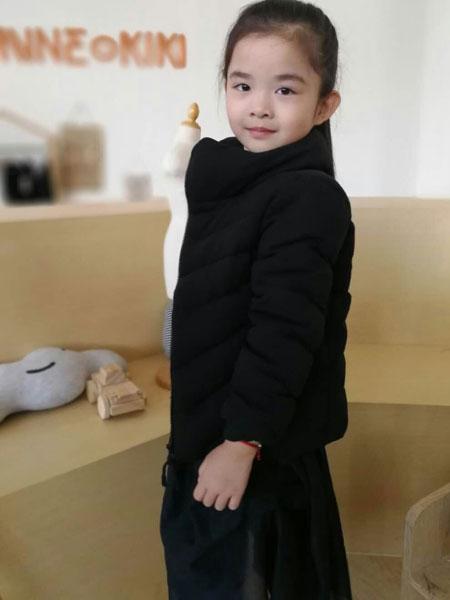 设计师范NNE&KIKI女童时髦外套
