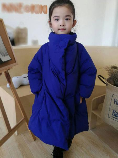 设计师范NNE&KIKI女童17羽绒服