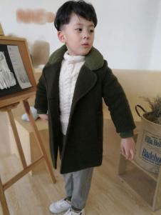 设计师范NNE&KIKI男童时尚大衣