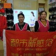 热烈祝贺广东佛山吴小姐都市新感觉内衣加盟2店开业业绩收获22704元