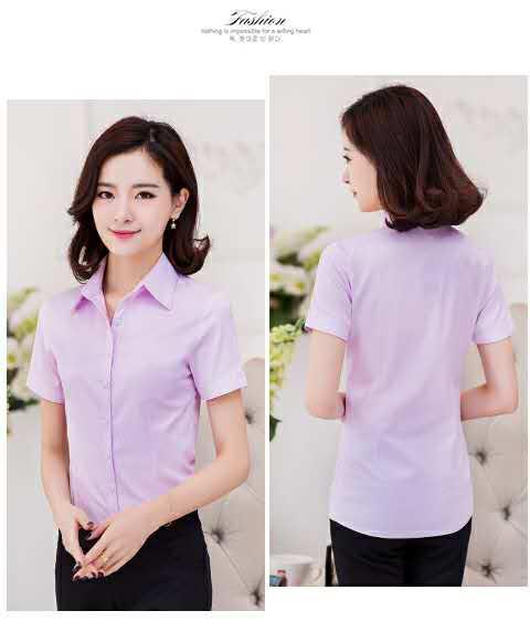 面试酒店工作装供应 福建专业的女士职业衬衫供应商