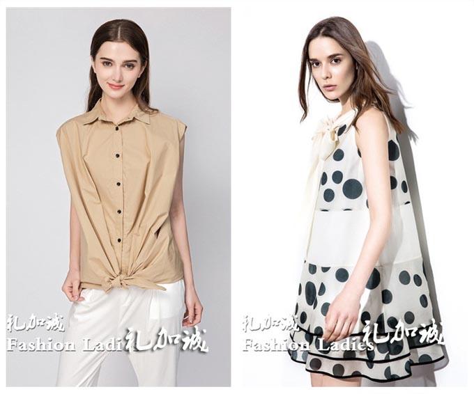 艾沸品牌女装折扣店 17新款折扣服装尾货女装