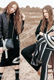 卡尼欧2017新款黑色外套