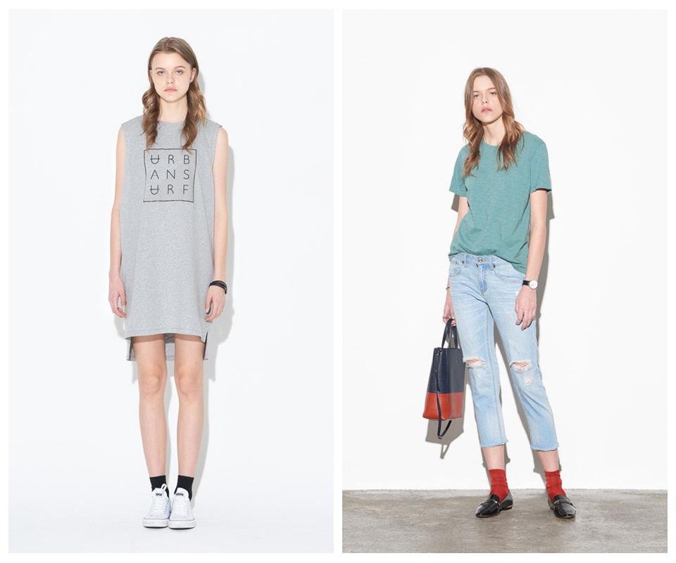 百家好韩国著名品牌春夏装专柜折扣女装一手货源