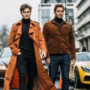 唐束男装:儒雅有度,高领毛衣成为冬季男士品位之选