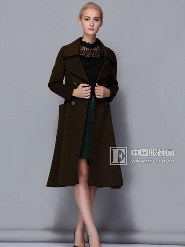 依路佑妮女装 大衣自带的女神气质