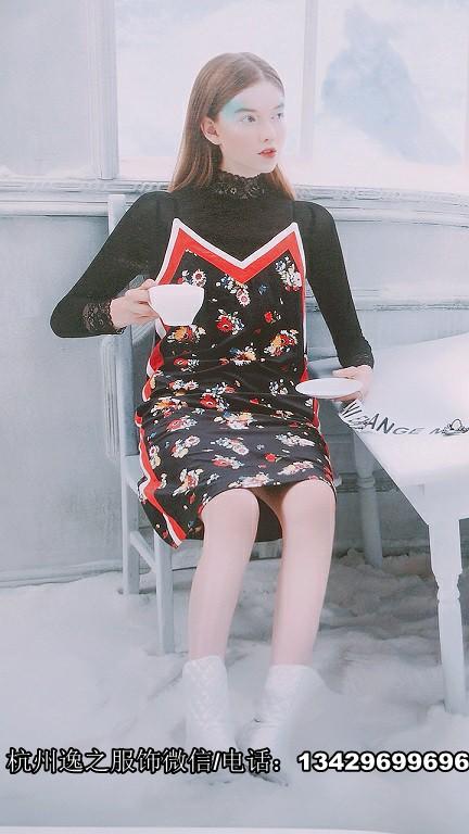 柳林路小商品市场杭州品牌折扣女装加盟秋品牌折扣店魔美名作17春