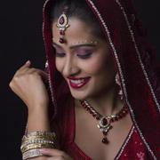 印巴文化女装:饭可以不吃,首饰必须要买!印巴人民才是最资深的剁手党!