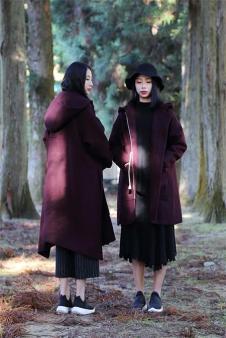 TREE树生活2017呢子外套