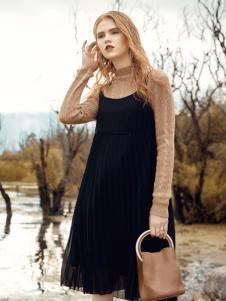 布根香女装秋冬连衣裙
