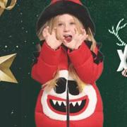 FolliFollie圣诞趴想做一个耀眼小潮童?红绿金搭出不一样的潮范......
