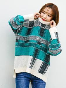 百变伊伊女装印花韩版毛衣