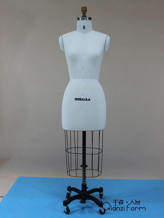 美国码婚纱立裁人台,美国码婚纱试衣模特