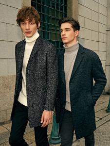 爱迪丹顿2017新款呢子大衣