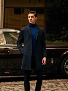 爱迪丹顿秋冬新款呢大衣