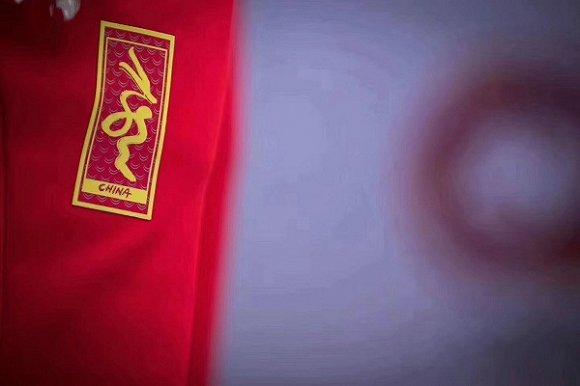中国体育代表团冠军领奖服