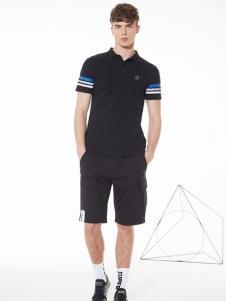 佐纳利黑色T恤