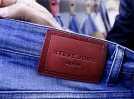 """""""史蒂夫·乔布斯""""成了服装品牌 苹果公司起诉遭驳回"""