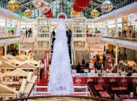 2017年圣诞购物季零售额达304亿美元 服装类同比增长2.7%