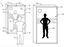 向时尚世界挺进的亚马逊又有动作了 这次是智能镜子专利