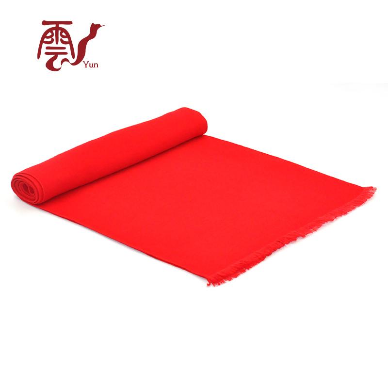 红色围巾一手货源厂家直销