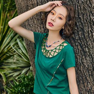 浪漫的文艺气息女装加盟 就选印巴文化女装!