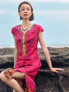 2018印巴文化女装连衣裙