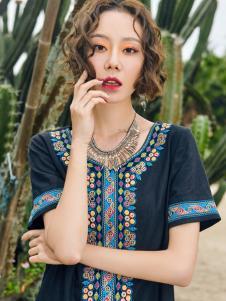 2018印巴文化精美刺绣上衣