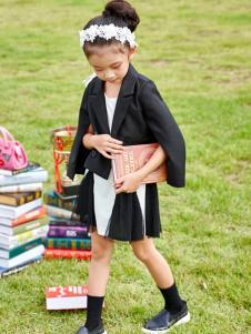 玛玛米雅春夏黑色女童装