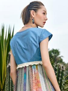 2018印巴文化女装文艺两件套