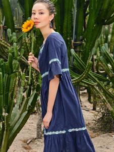 2018印巴文化波西米亚风连衣裙