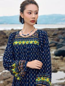 2018印巴文化复古文艺上衣