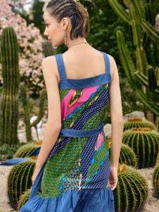 2018印巴文化艺域风情连衣裙