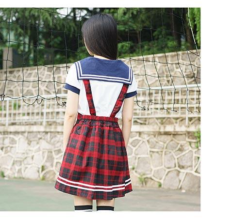 武汉学生日韩学院风水手服专业供应 优雅的日韩校园服饰