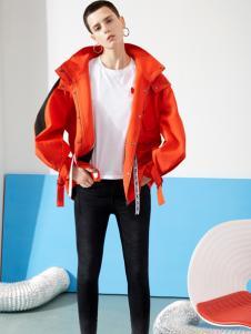 YDG春装新款红色外套