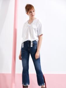 YDG新款白色T恤