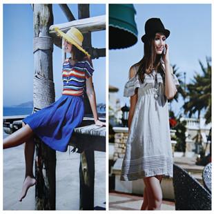 欧娅铂时尚高端品牌折扣女装厂家一手货源