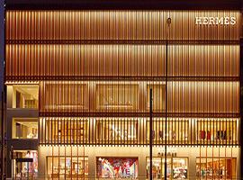 为向消费者宣传品牌文化 爱马仕在香港建了一座竹屋