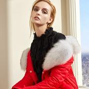 迪笛欧女装 让红色大衣开启你的所有好运吧