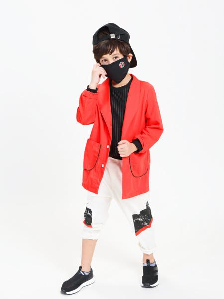 童戈2018春夏新款红色大衣