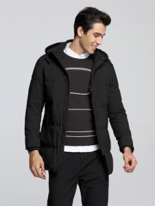 Fivecaman法卡蔓新款黑色外套
