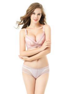 卓娅佳人新款淡粉色文胸套装