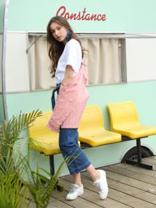 Ouyue欧玥2018牛仔裤