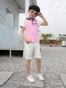土巴兔2018新款粉色T恤