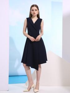 欧米媞新款V领连衣裙