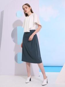 欧米媞2018春夏新款半裙